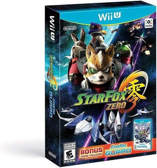 Star Fox Zero + Star Fox Guard Original Wii U Lacrado