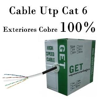 Cable De Red Utp Cat5 Exterior X 306mts