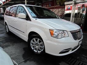 Chrysler Town & Country 2013 Touring Piel Blu-ray Aut Blanco