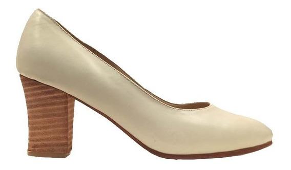 Zapatos Stilettos Mujer Plantilla Confort Taco Bajo Rimini