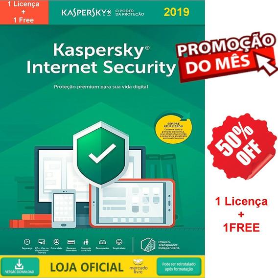 Kaspersky Internet Security - 1 Dispositivo 2019