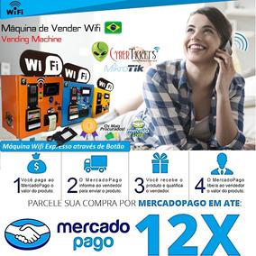 Máquina De Wi-fi Por Moedas E Notas Mikrotik Rb Hap Mini