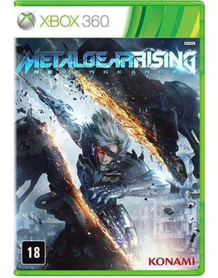 Jogo Metal Gear Rising: Revengeance Xbox 360 Original-usado