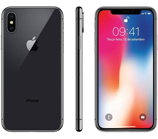 iPhone X 64 Gb Original 1 Ano De Garantia +nota Fiscal