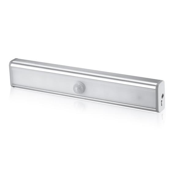 Led Luz Escada Pir Movimento Sensor Lamp 10 Leds Noite Luz