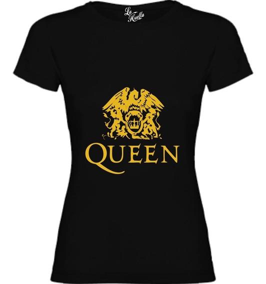 Polera De Mujer Queen - Logo / Lho
