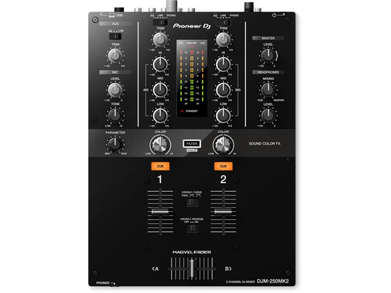 Mixer Pioneer Dj Djm250 Mk2 Oferta Na Loja World Of Music