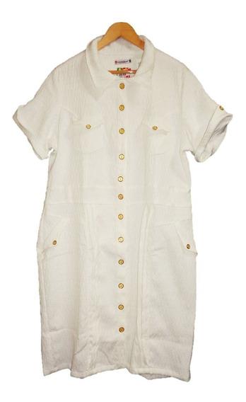Vestido Moda Evangélica Plus Size Jacquard