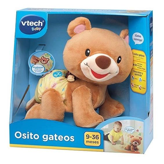 Osito Gateos - Vtech - Incentiva Gateo - Música Y Luz