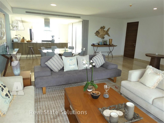 Departamento Penthouse En Venta/renta 3 Recamaras, Sky Residences, Av. Bonampak, Puerto Cancun.