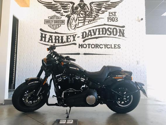 Harley-davidson Fat Bob Preta 2019/2019.
