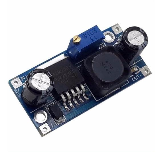 5 Peças Lm2596 Regulador De Tensão Ajustavel Dc-dc Step-down