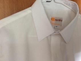 Camisa De Vestir De Caballeros Blanca Talla 18.