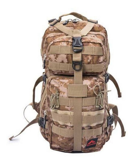 Mochila Tática Militar Army 25l Trilhas E Rumos + Nf-e