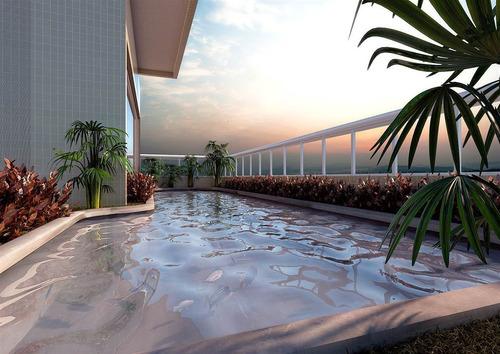 Apartamento, 2 Dorms Com 66.42 M² - Tupi - Praia Grande - Ref.: Vno42 - Vno42