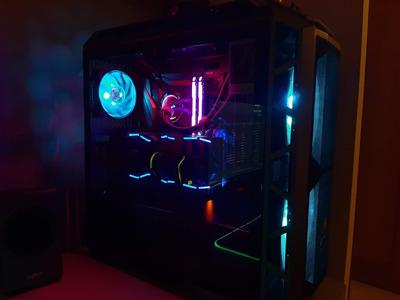 Pc Gamer, Custom, Mod, Servicio Refrigeración Liquida Custom
