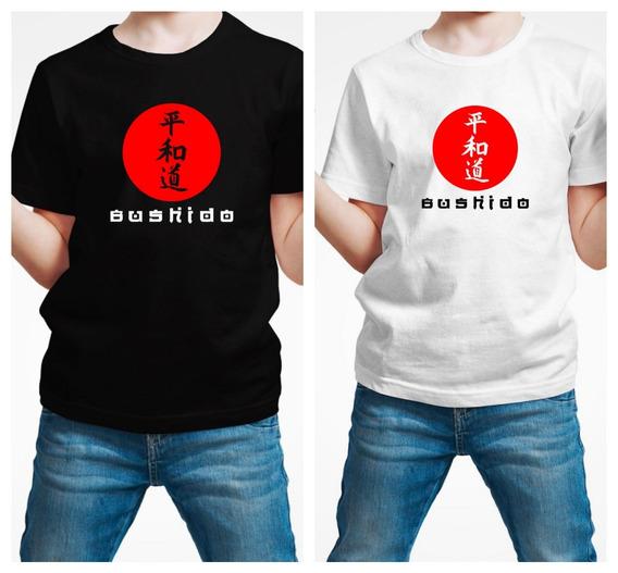 Playera Bushido Samurai Niño 1 Pza