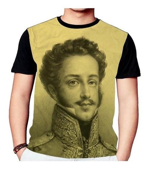 Camisa Camiseta Dom Pedro I Do Brasil Rei Soldado1231