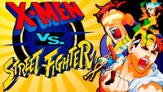 Jogo Para Pc - X-men Vs Street Fighter
