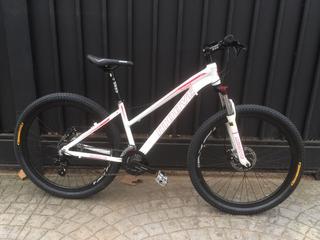 Bicicleta Moove Dama Mtb Aluminio Disco 21v 27,5