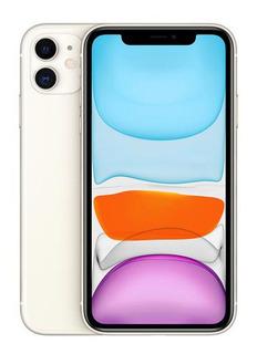 iPhone 11 Branco 6,1 , 4g, 64 Gb E Câmera 12 Mp - Mwlu2bz/a