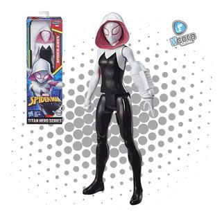 Figura Spider Gwen Titan Heroes Serie Marvel Hasbro