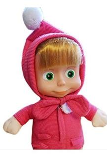 Masha Doll De Masha Y El Oso; Tamaño 11 Pulgadas