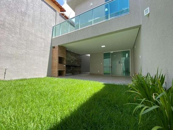 Casa Geminada À Venda, 3 Quartos, 3 Vagas, Planalto - Belo Horizonte/mg - 1476