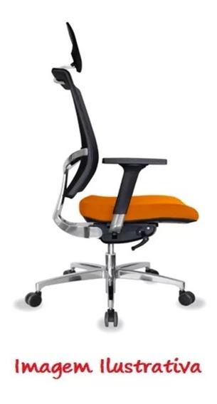 Cadeira Éter Giratória Presidente Encosto Tela Éterpres2