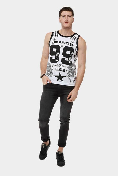 Playera Para Hombre Tank Top Central 99_1910