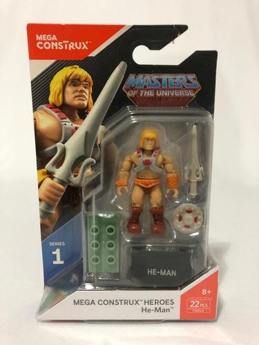He-man Motu Mega Construx Lacrado