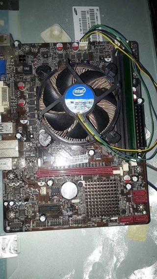 Placa Mãe Kronus Socket 1155 + Processador Dual Core