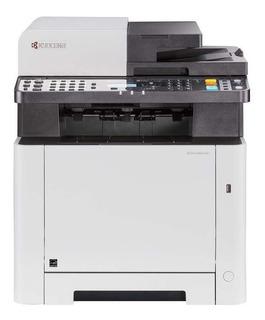 Impresora a color multifunción Kyocera Ecosys M5521CDN 120V blanca y gris