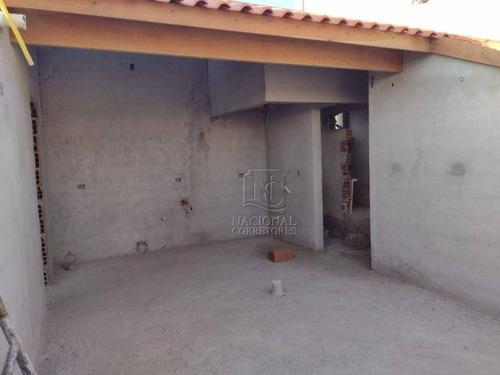 Sobrado Com 3 Dormitórios À Venda, 113 M² Por R$ 390.000 - Vila Curuçá - Santo André/sp - So3683