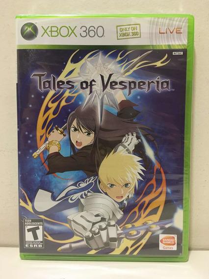 Tales Of Vesperia Microsoft Xbox 360 X360 Novo Lacrado