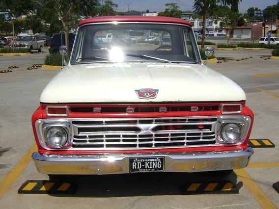 Camioneta Clasica Ford F100 1966