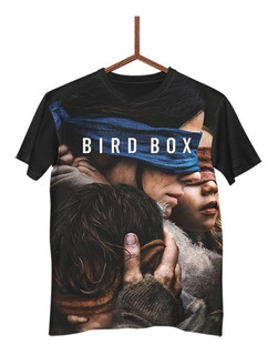 Camisa Camiseta Filme Bird Box Netflix G0091