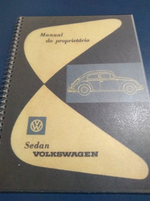 Manual Fusca 1961 Copia Perfeita