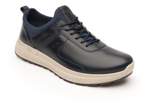 Sneaker Urbano Flexi Caballero 403001 Azul