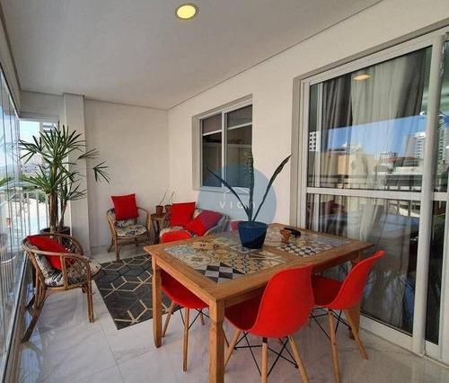 Apartamento Com 3 Dormitórios À Venda, 81 M² Por R$ 780.000,00 - Vila Romana - São Paulo/sp - Ap0176