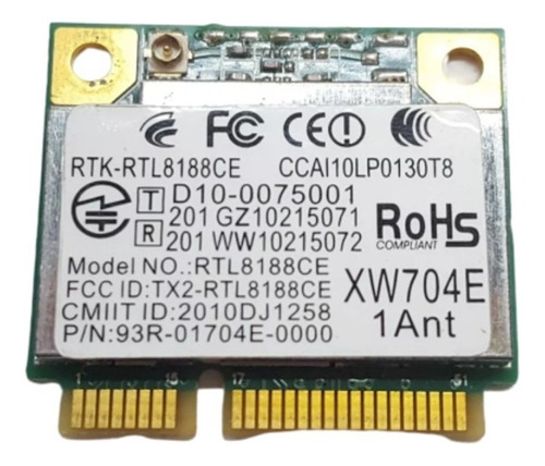 Placa Wifi Realtek Rtl8188ce Philco Phn14c1 Noblex Nb1403