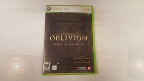 The Elder Scrolls Iv: Oblivion Goty - Xbox 360 - Original