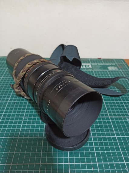 Lente Teleobjetiva Para Canon - Meyer 400mm F5.5 Telemegor