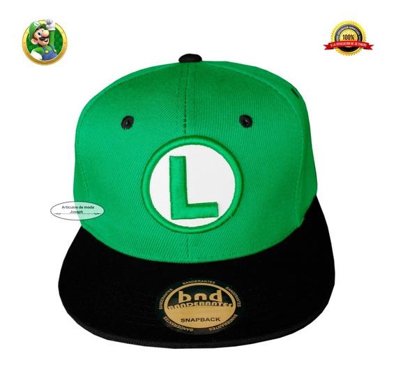 Gorra Cosplay Gamers Nintendo Envio Gratis Luigi Mario Bros