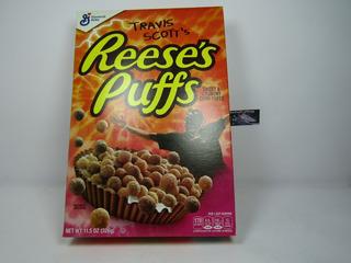 Cereal Reeses Puffs X Travis Scott 326gr Importado