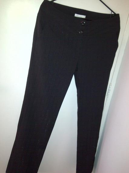 Pantalon De Vestir Para Dama, Color Negro
