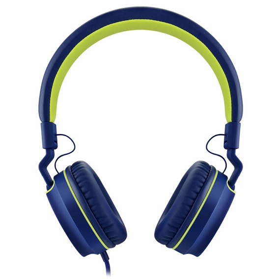 Fone De Ouvido Earphone Fun Series Verde E Azul Ph162 Pulse