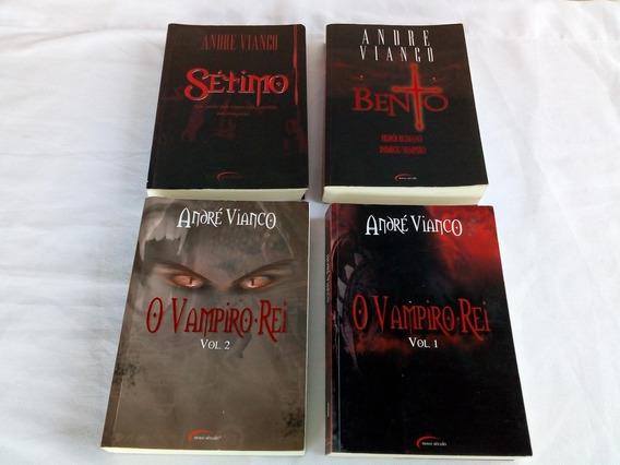 Livros Triologia Vampiro Rei E Setimo Do Andre Vianco