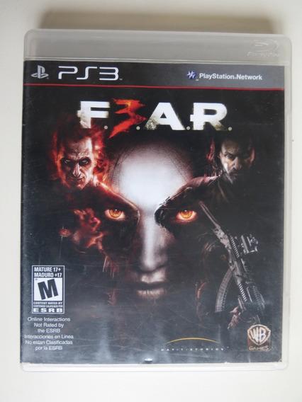 F.e.a.r. 3 Ps3 Playstation 3 - Mídia Física Usado