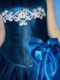 Vestido De Xv Años Azul Petróleo
